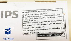 thông số đèn philips 3.5W