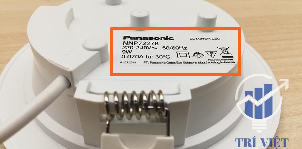 Đèn Led âm trần downlight Panasonic tại quận 12